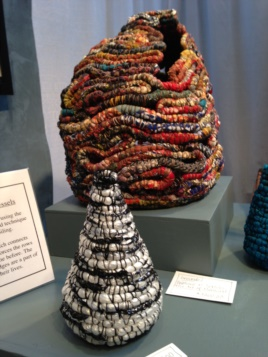 Baskets from artist Jackie Abrams.